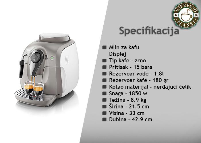 Philips-HD8651-19 - prodaja Beograd - Espresso Planet