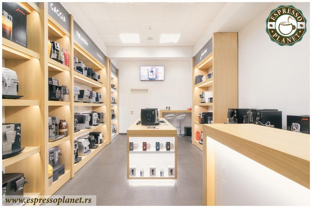 Svečano otvaranje novog poslovnog prostora Espresso Planeta u ulici Dzona Kenedija 31a, Novi Beograd.